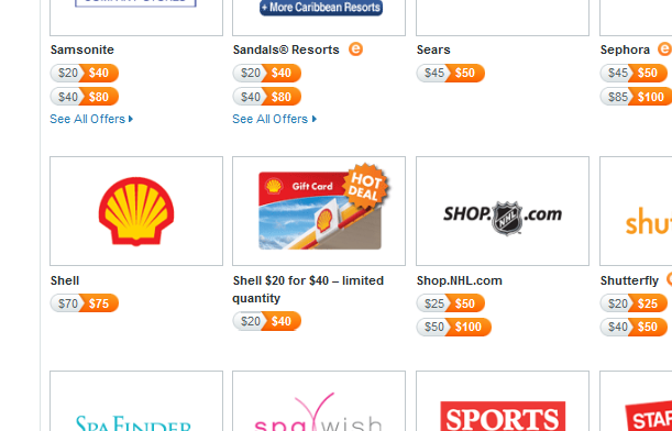 Discover Card Cashback- Shell Gasoline $20 for $40 Giftcard ...
