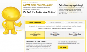 With Hertz Gold Plus Rewards ® booking a car has never been easier, faster or more rewarding. Skip the counter and go right to your car. Earn points towards free rental days.