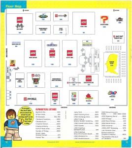 Cleveland Lego Kidsfest Map