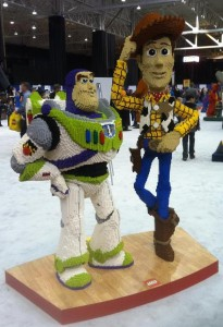 Lego Buzz and Woody