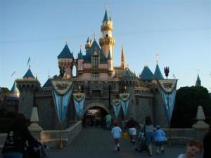 2010 Disneyland Castle