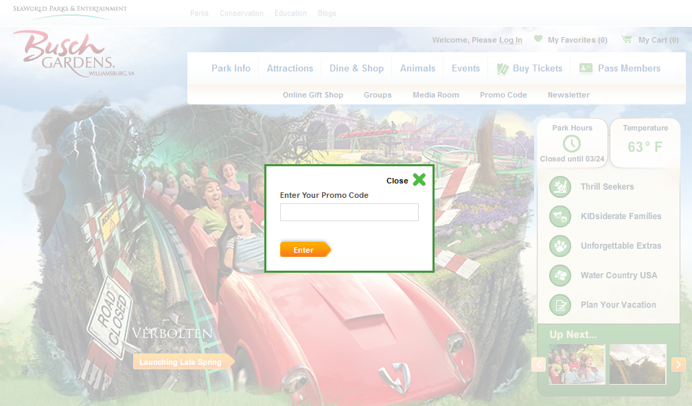 Good Promo Code Busch Gardens : August 2018 Discounts