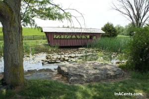 120513 Sauder Village Covered Bridge