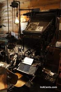 120513 Sauder Village Linotype