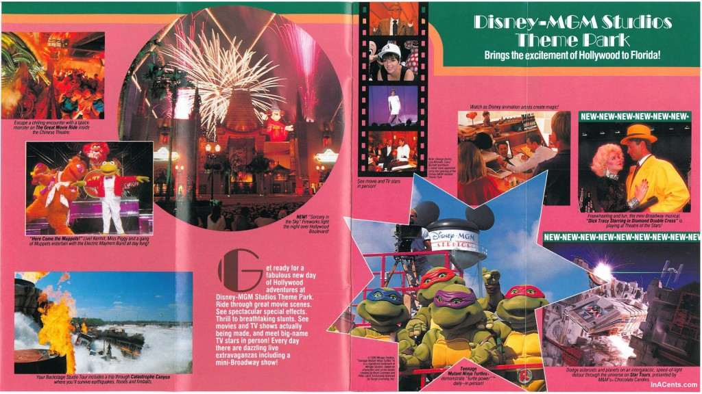 1990 Walt Disney World Guide The Muppets Were In Development Inacents Com