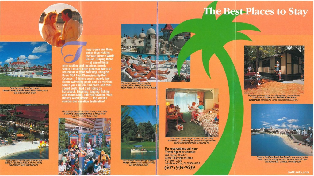 1990 Wdw Brochure Page 6 Inacents Com