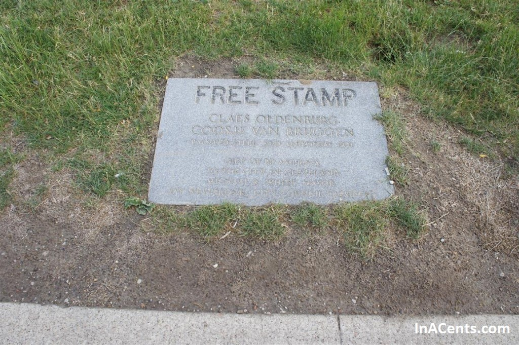 120526 Cleveland Free Stamp Plaque
