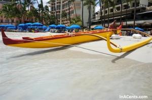 120616 Waikiki Beach Outrigger Canoe