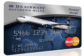 US Airways Dividend Miles card