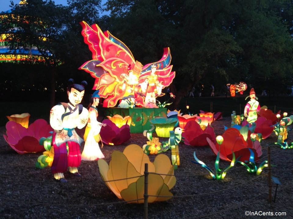 16-Missouri Botanical Gardens Japanese Lanterns Butterfly Lovers