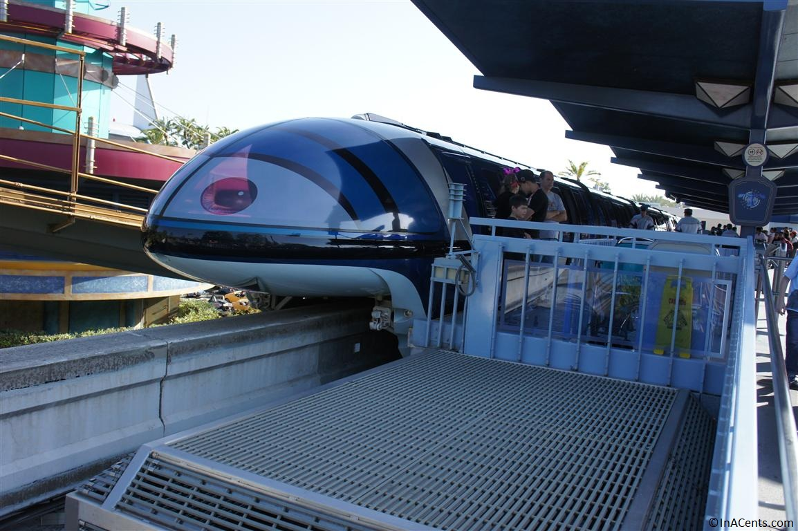 images How to Ride the Disneyland (California) Monorail