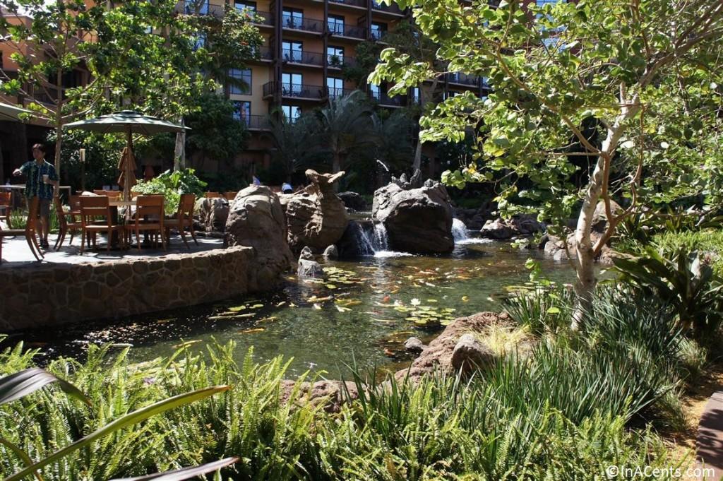 120625 Disney's Aulani Koi Pond 1