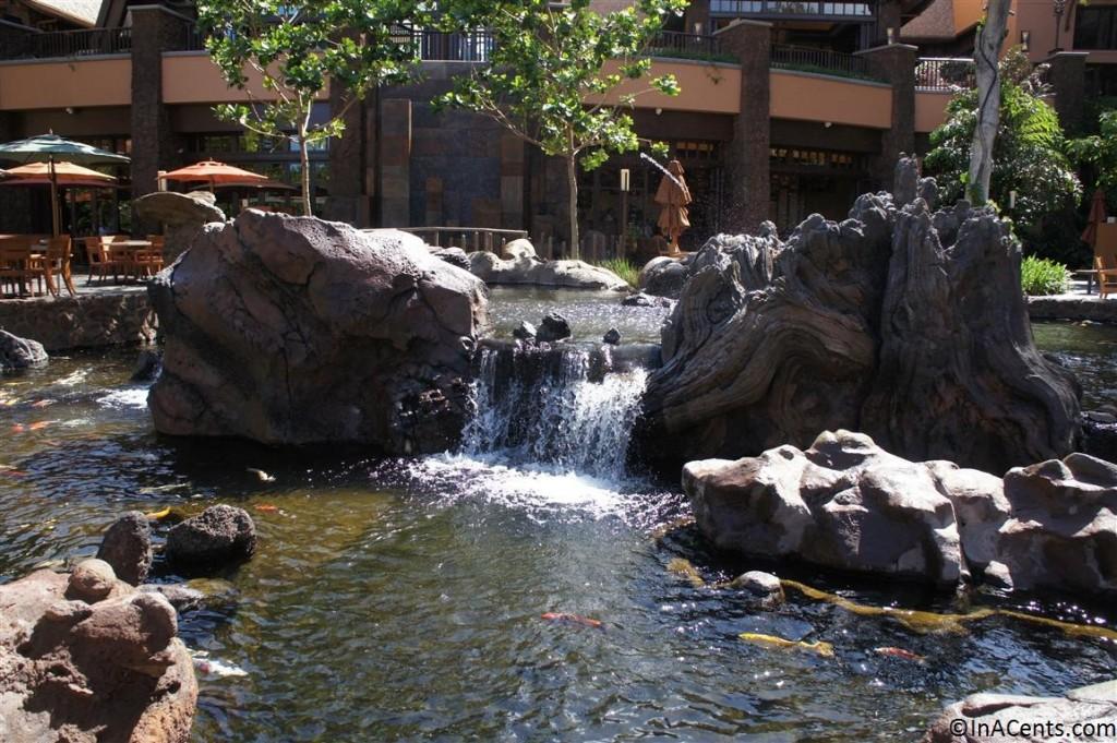 120625 Disney's Aulani Koi Pond 2