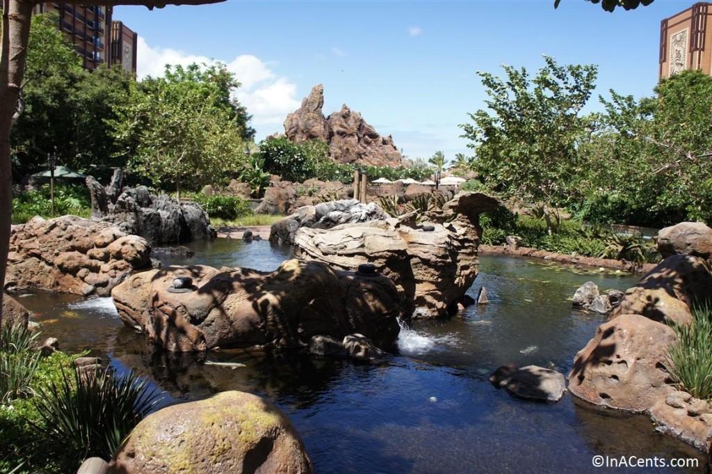 120625 Disney's Aulani Koi Pond 4