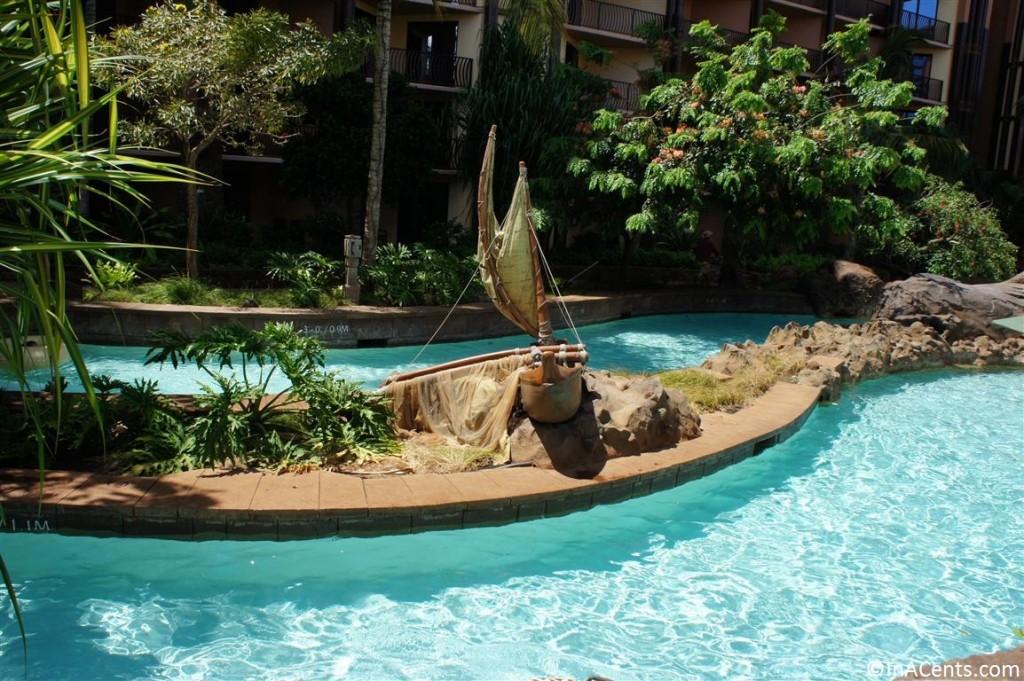 120625 Disney's Aulani Lazy River Boat