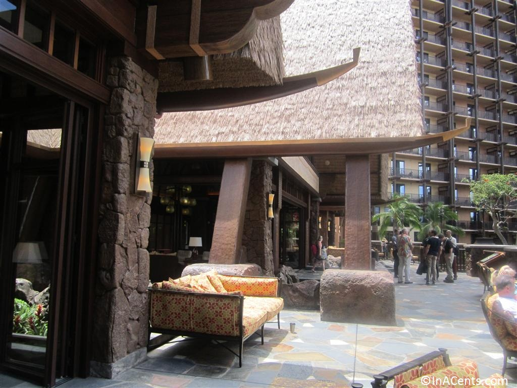 120625 Disney's Aulani Lobby Outside