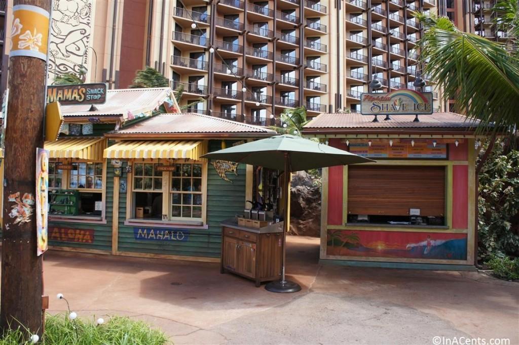 120625 Disney's Aulani Mama's Snack Shop