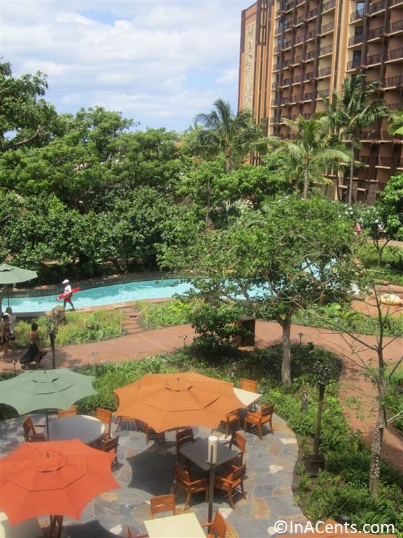 120625 Disney's Aulani View From Above of Lazy River