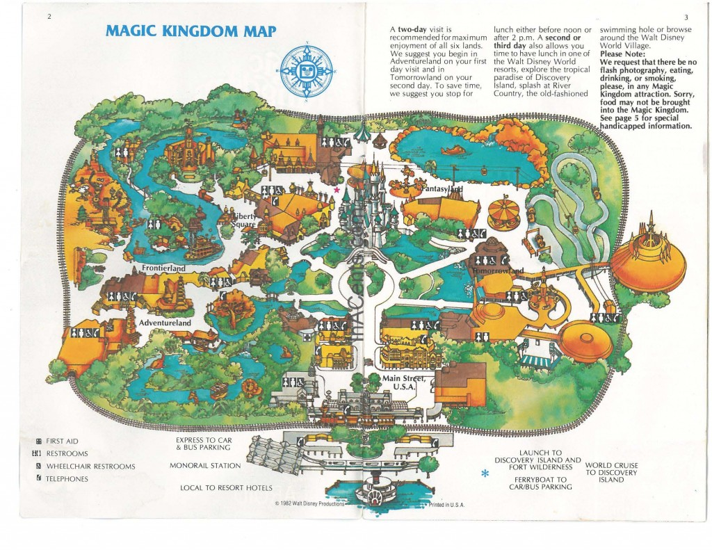 1981 Wdw Park Guide Wm Page 02 Inacents Com