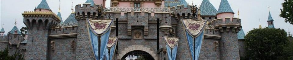 120610 Disneyland Castle