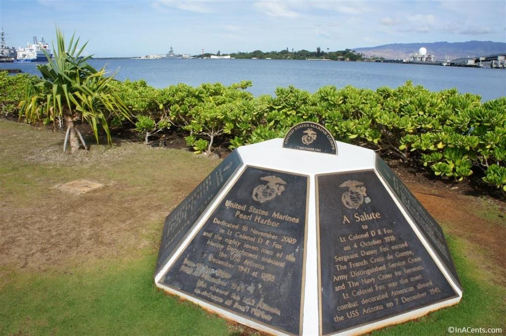 120615 Pearl Harbor, Hawaii Marines Monument