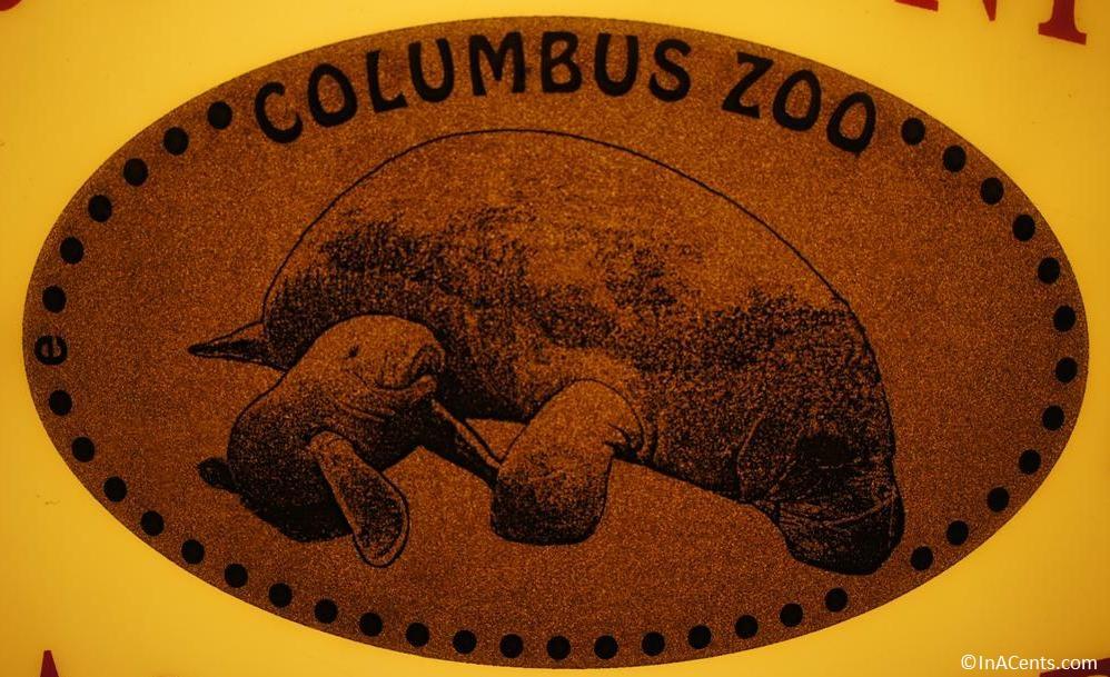 120902 Columbus Zoo Pressed Penny