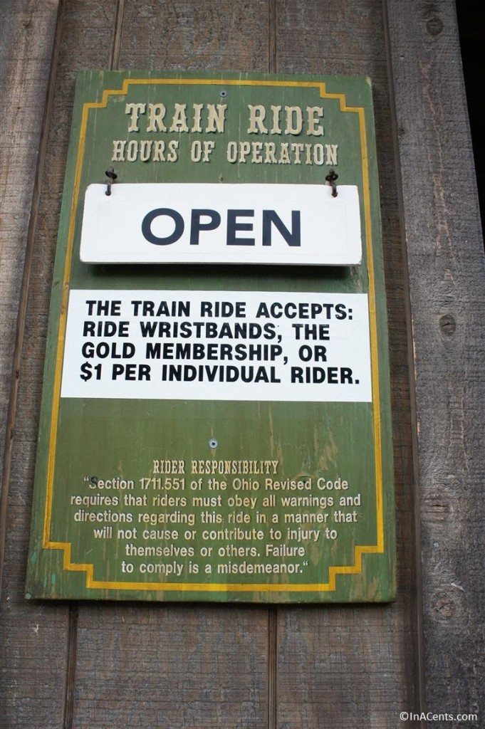 120902 Columbus Zoo Train Ride Sign 1
