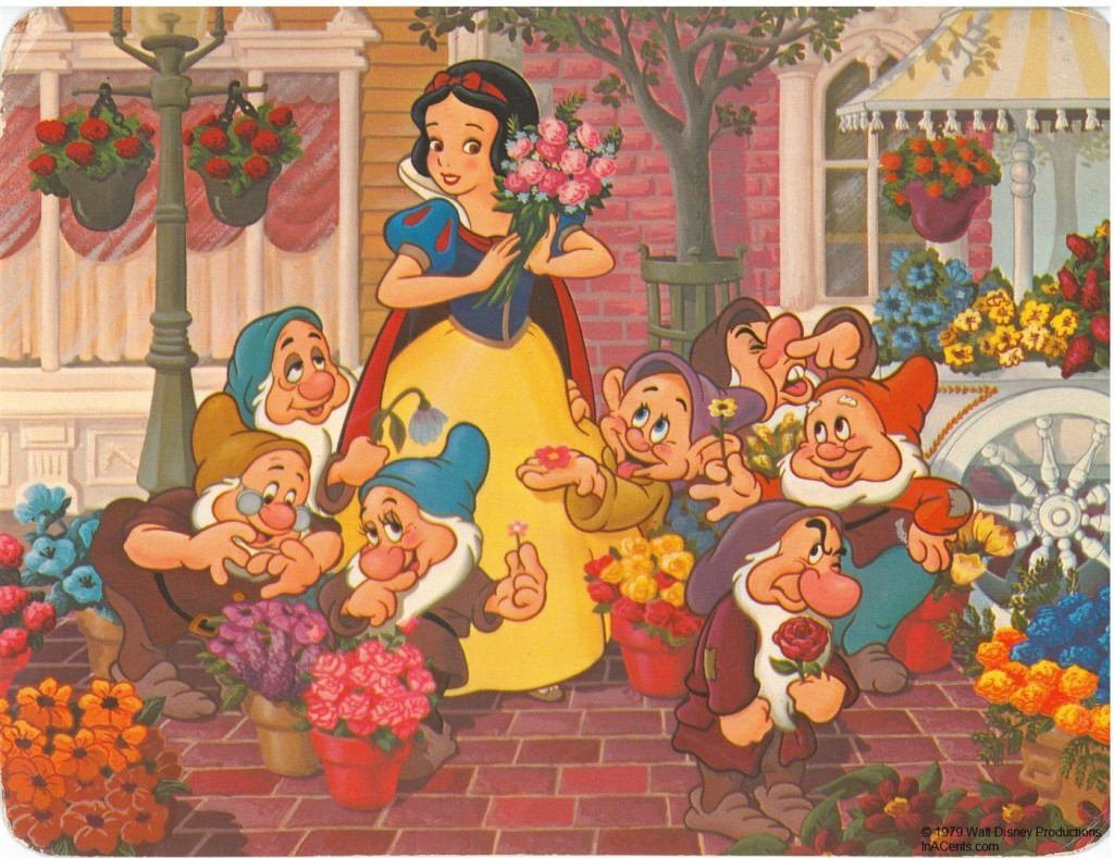 1979 Walt Disney World Snow White's Fantasy Bouquet