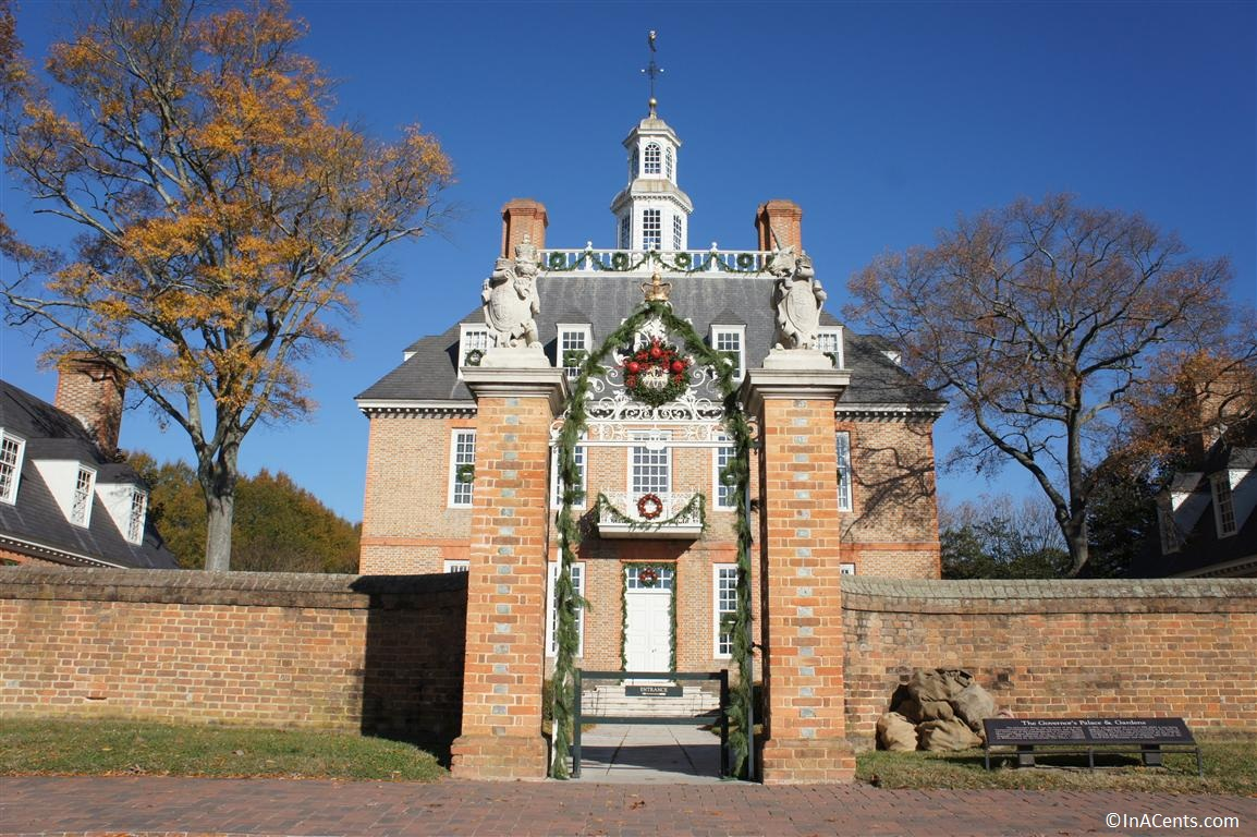 121122 Colonial Williamsburg Govenor's Palace 1