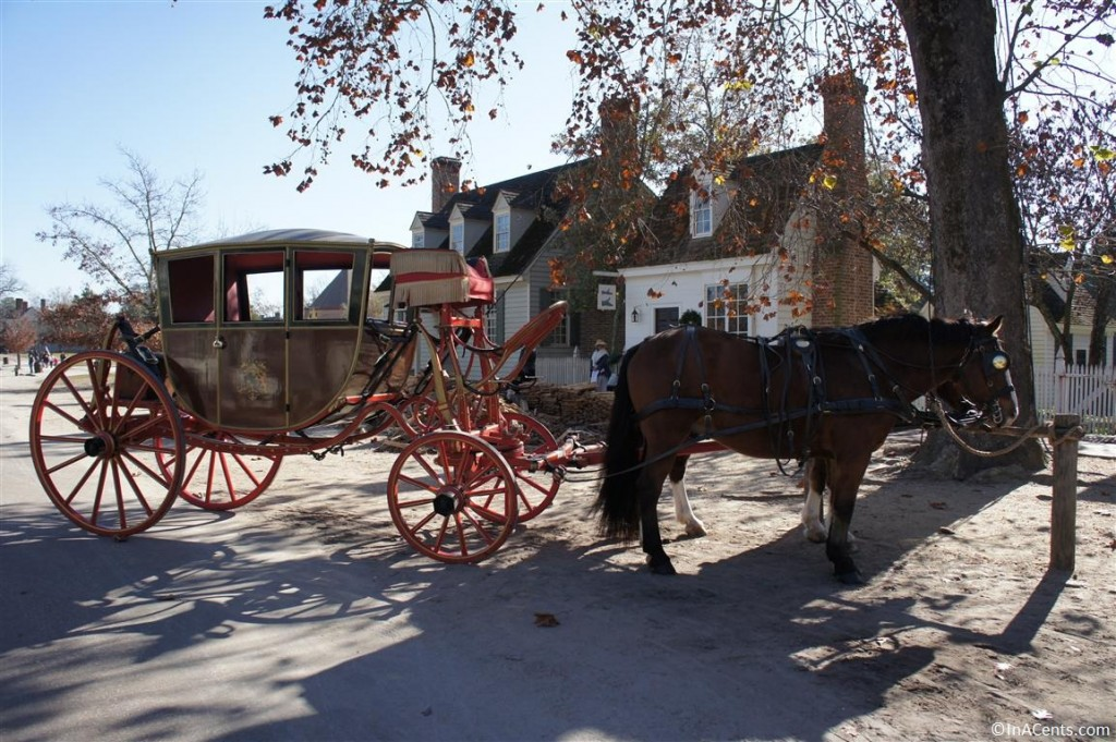 121122 Colonial Williamsburg Horse Carriage