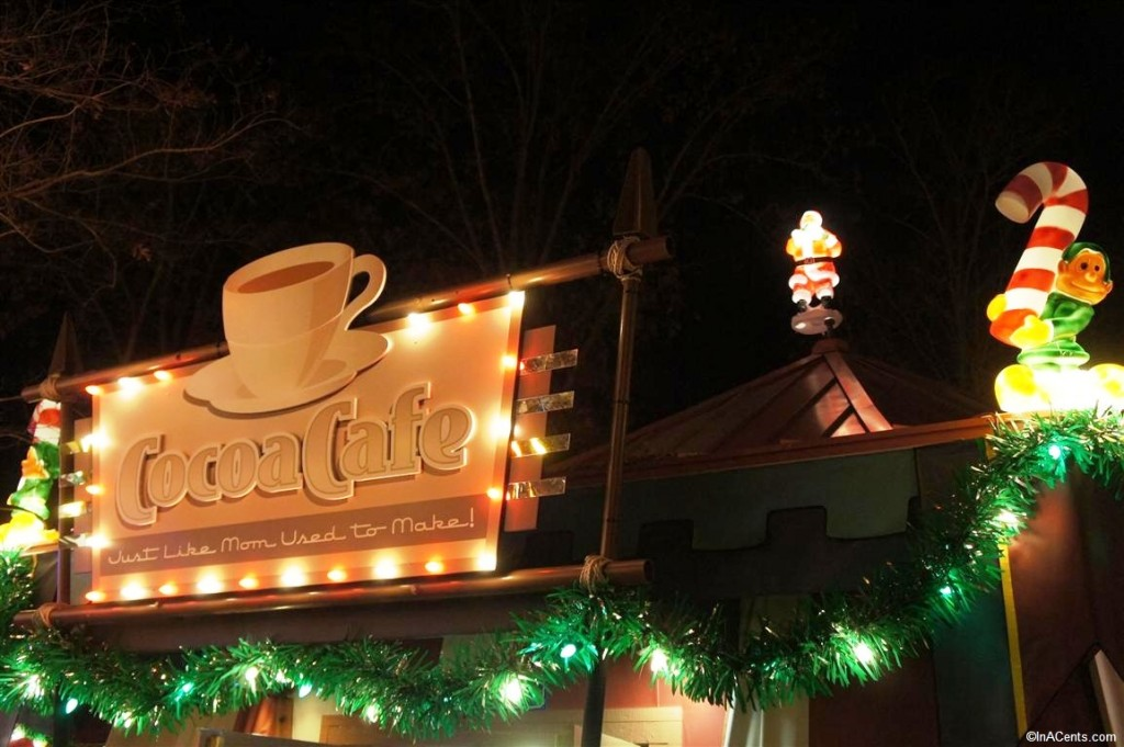 121123 Busch Gardens Williamsburg Christmas Town Cocoa Cafe