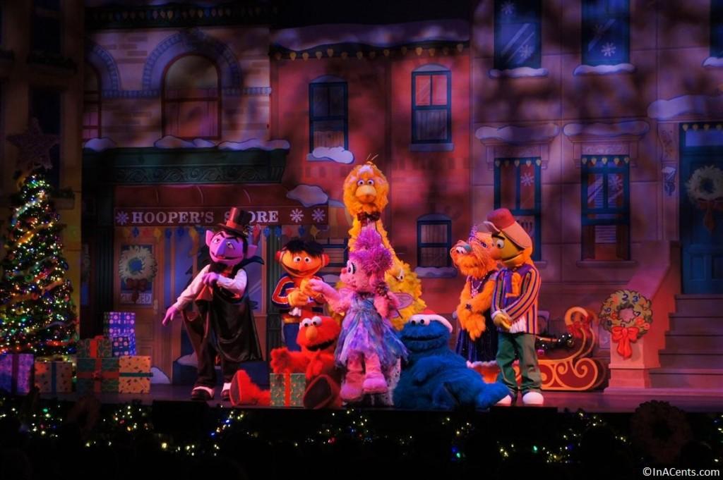 121123 Busch Gardens Williamsburg Christmas Town Sesame Street Show