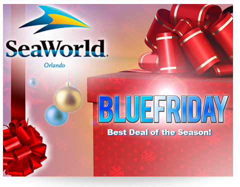 Sea World Blue Friday Sale