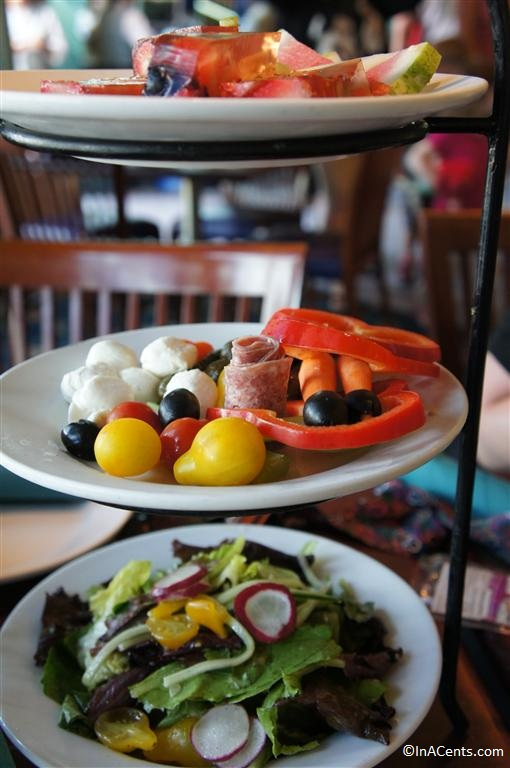 120611 DCA Ariel's Grotto Antipasti Tower