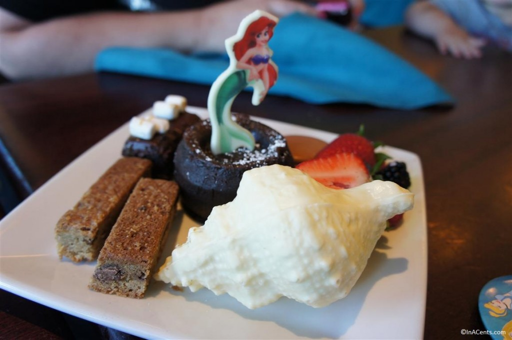 120611 DCA Ariel's Grotto Dessert