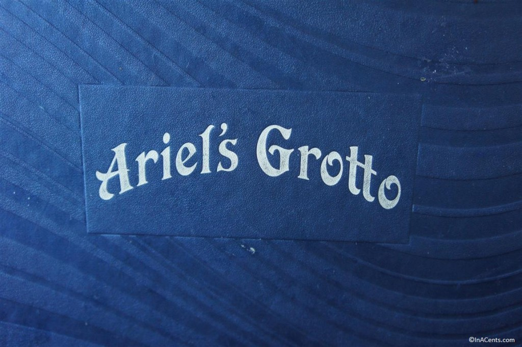 120611 DCA Ariel's Grotto Menu