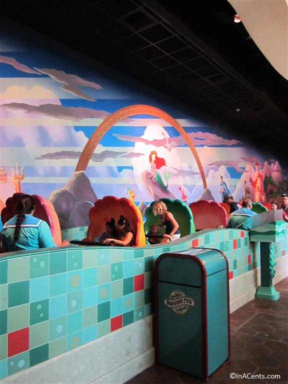 120611 DCA The Little Mermaid ~ Ariel's Undersea Adventure Queue