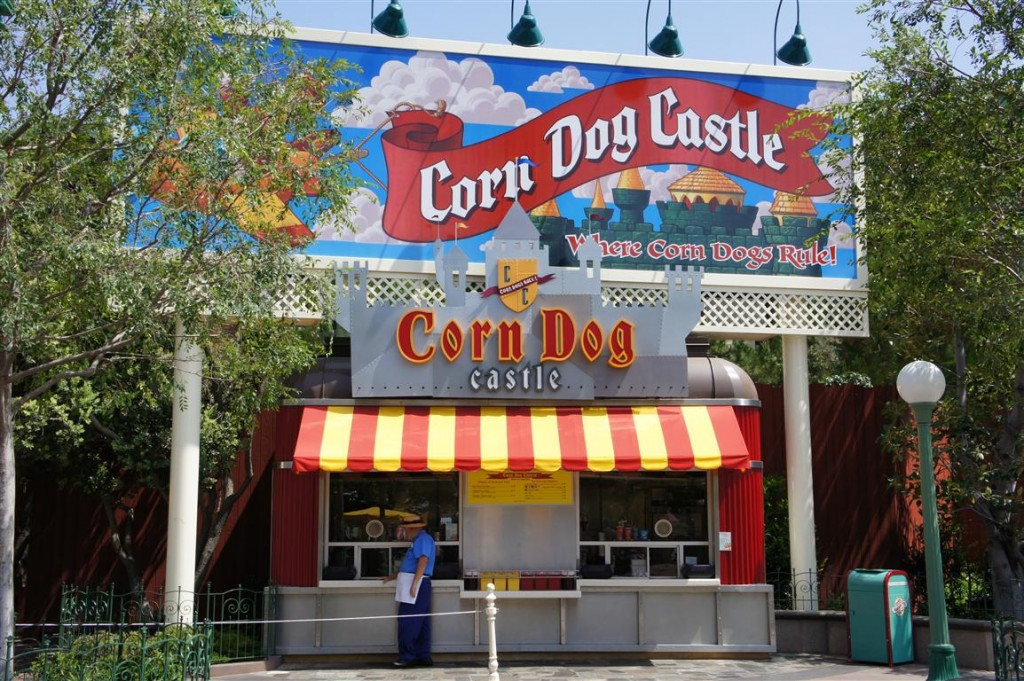 120611 Disney's California Adventure (2) Corn Dog Castle
