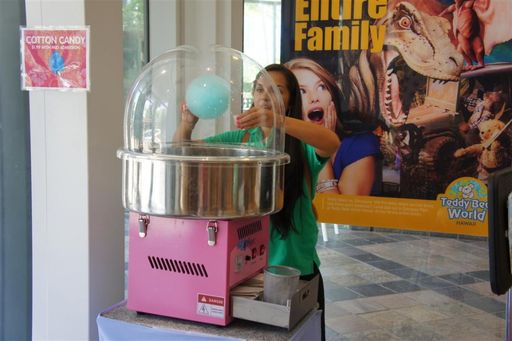 120624 Teddy Bear World Hawaii- Cotton Candy