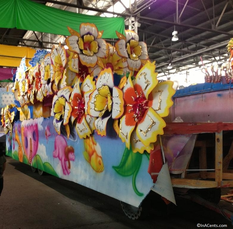 New Orleans- one of the floats for 2013 Mardi Gras