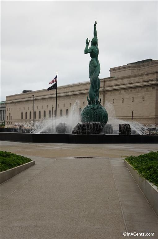 120607 Marshall Fredericks Cleveland War Memorial (1)