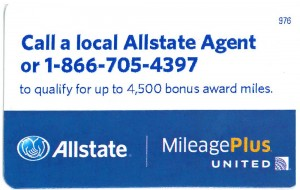 Allstate United Offer