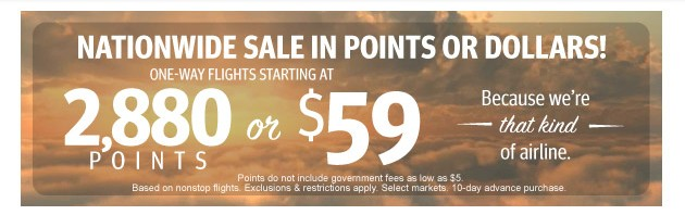Southwest April Sale