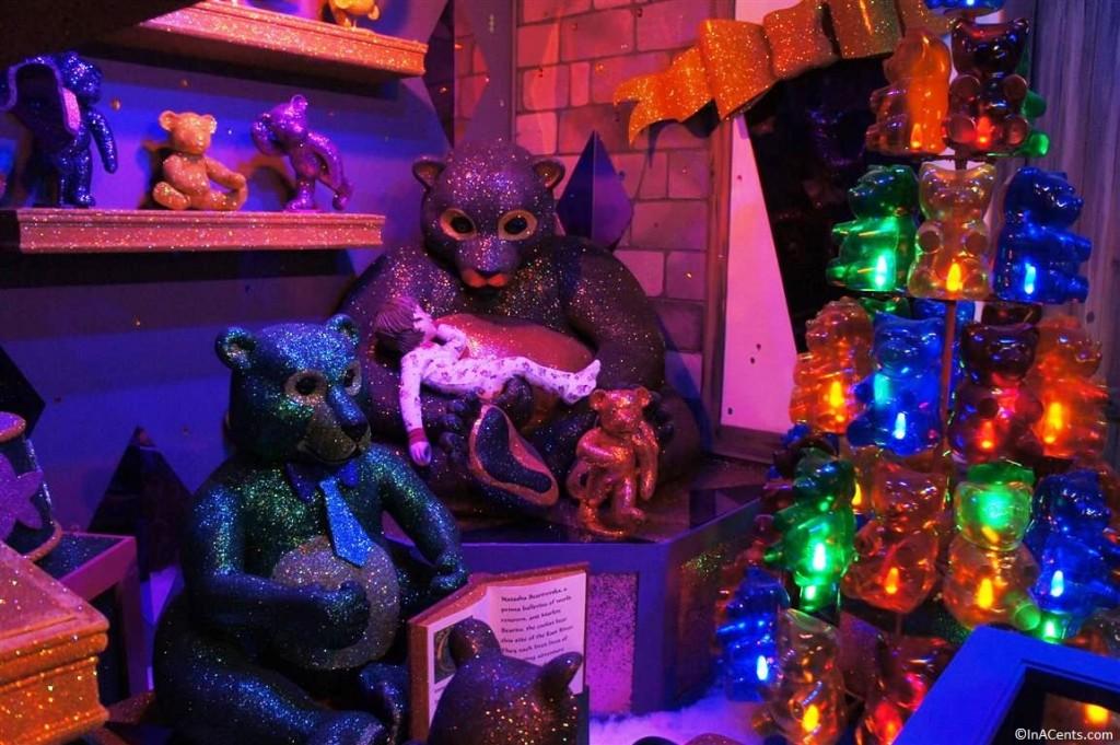 131123 Castle Noel- Bloomingdale's Gummy Bear Window Display