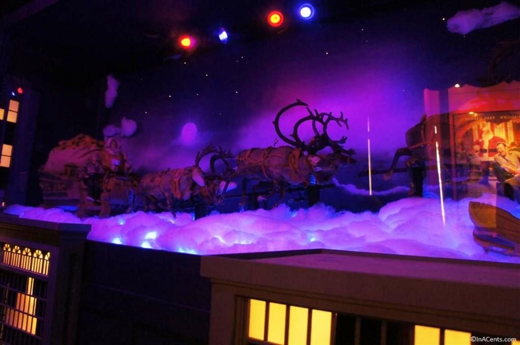 131123 Castle Noel- Santa Claus The Movie (1985), original props used to film the flying reindeer scene