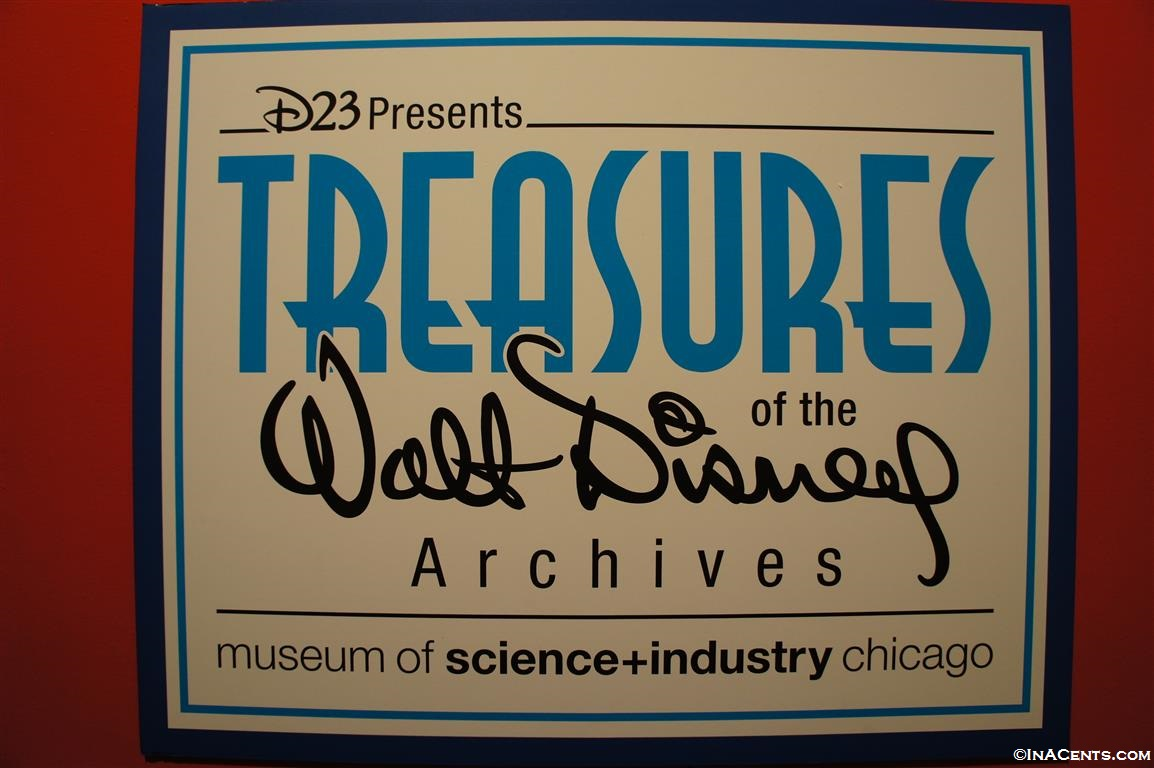 Chicago S D23 Treasures Of The Walt Disney Archives Inacents Com