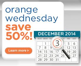 Howard Johnson Orange Wednesday 2014