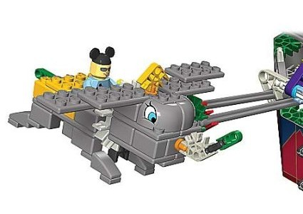 K'NEX Motorized Disney Ride Models...