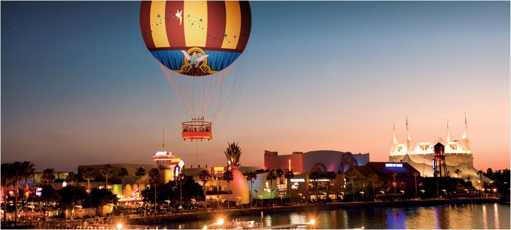 Discounted Downtown Disney Aerophile Tickets