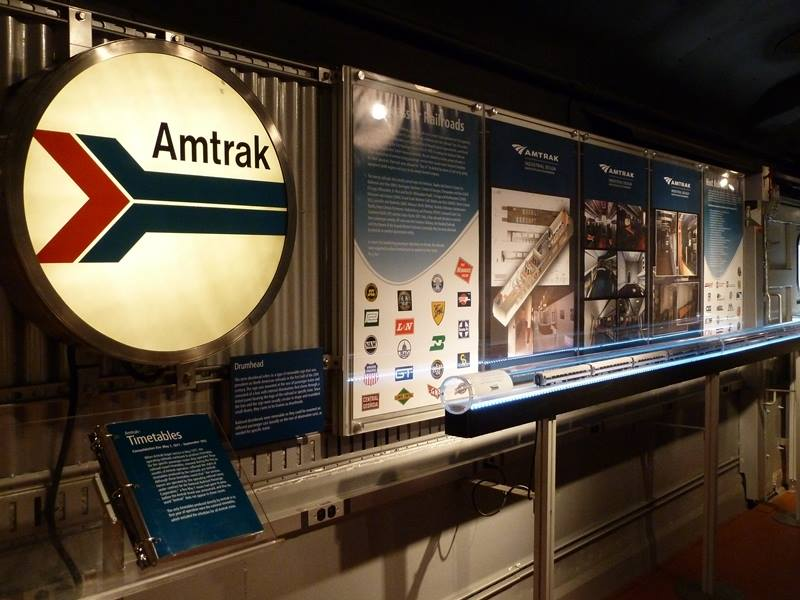 2014 Amtrak Exhibit Train Schedule Inacents Com